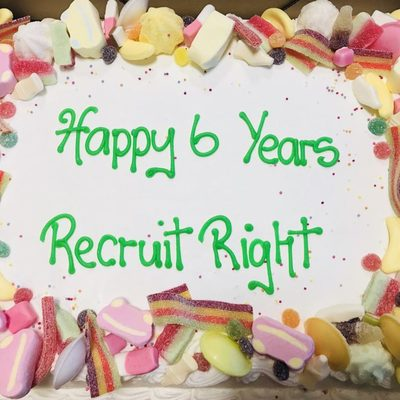 Another landmark for Recruit Right in its six-year period of non-stop growth